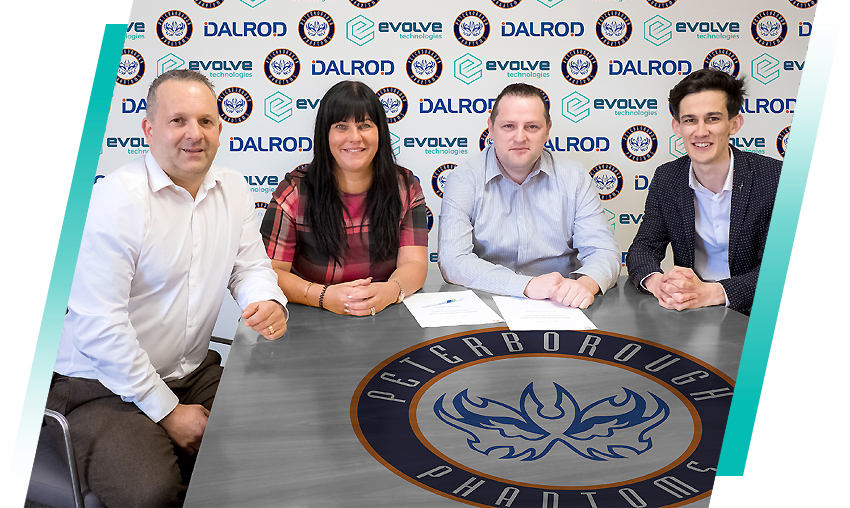 Peterborough Dalrod Phantoms sponsorship signing